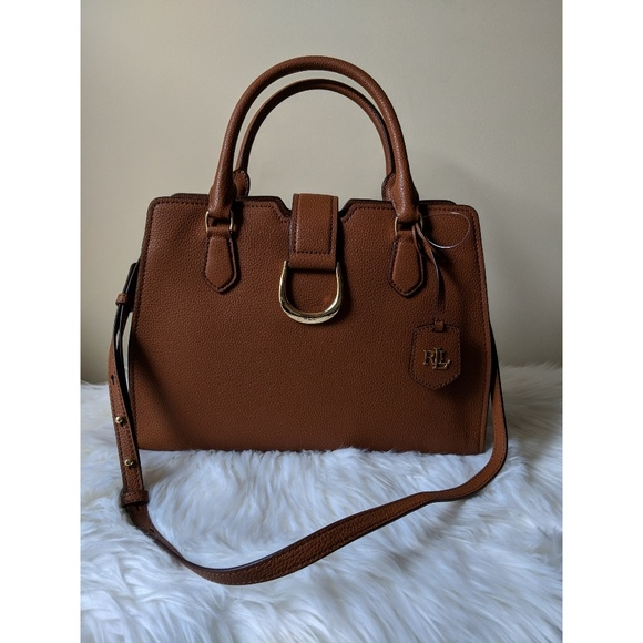 bd6877c7a574f Ralph Lauren City Satchel